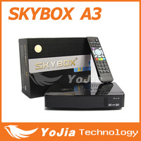 1pc Original Skybox A3 HD digital satellite receiver support youtube youporn EPG cccam newcam mgcam with free shipping post