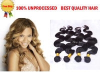 queen weave beauty Virgin Brazillian Hair Body wave 3pcs lot  Free shiping rosa brazilian hair weave XBL  hot beauty hair vendor