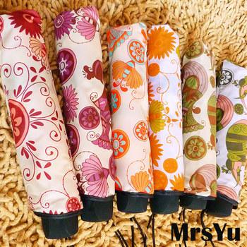 Free shipping colorful Pop Art graffiti woman's folding rain umbrella, women dome props parasol nice crafts gift prop umbrellas