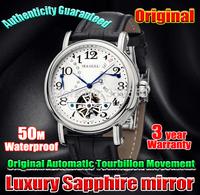 100% Original Seagull Brand Watch men Luxury Automatic tourbillion Mechanical REAL SAPPHIRE Glass Mens Wrist Watches m171s