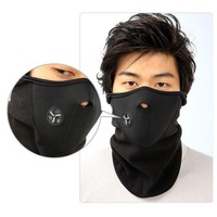 Black Windproof Neck Guard Face Mask for ski bicycle motorcycle snowboard top quality DB069 Free Shipping wholesale