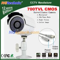 Big Sale! Most popular Outdoor 700TVL IR Waterproof Color Camera with CMOS sensor 24pcs LEDs IR Night Vision free shipping