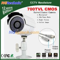Big Sale!  most popular 700TVL Waterproof Outdoor Camera with CMOS sensor 24pcs Blue light +free shipping