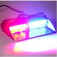 Car Warning Lights VIPER S2 Shovel Chuck Thunder Flashing light Ultra bright escorting auto lighting Laser beam of 16 car lamp