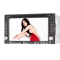 "New Double Din 6.2""Car Radio system with GPS The Fast Win CE CD DVD Player MP3/4/USB/AUX/Stereo Touch Screen With 3G Host WIFI"