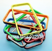 Free shipping!Colorful bamper border  shell for iphone5  shell  cover protective shell casing Apple High quarlity