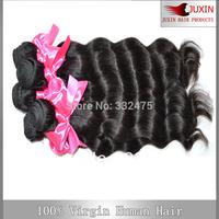 "DHL Free Shipping 8""-34' 3pcs/lot Mix Size Human Virgin Natrual Wave Hair 6A Top Quality  Brazillian Virgin Hair Weave"