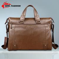 """Hot Sale Vintage Fashion Men's Genuine Leather Handbag Messenger Cross body Shoulder Briefcase 14"""" Laptop Bag Black Brown Coffee"""