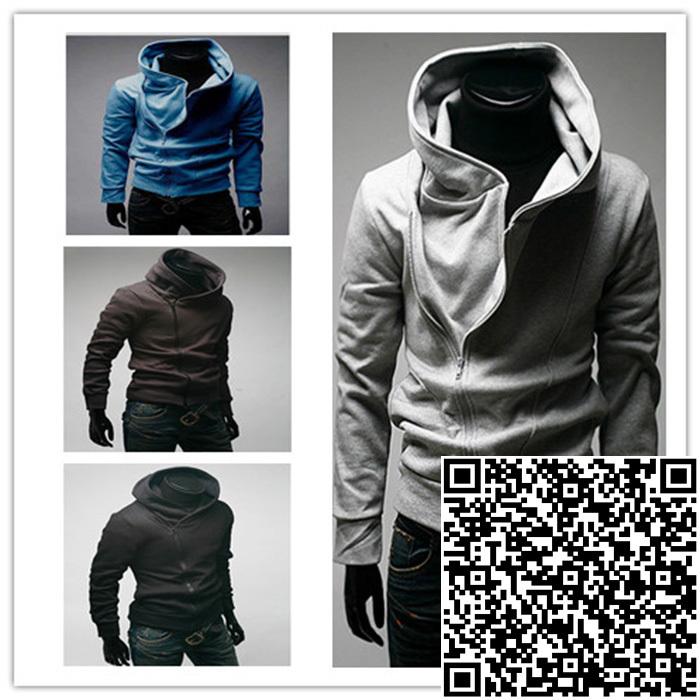 Freeshipping ,Promotion,2014 New Men's Fashion Sports Hoodies Sweatshirts,Top Brand Men's Clothing.Cotton,Korean Slim Style A15(China (Mainland))