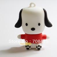 Newly Cute little dog shape USB Drive 1GB 2GB 4GB 8GB 16GB 32GB Real Capacity
