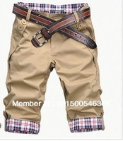 Free shipping Hot 2014 new men's shorts, men's casual shorts, men's shorts 10 colors of M-XXL