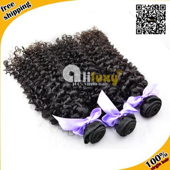 6A Wholesale virgin hair weave Eurasian virgin curly hair extension free shipping ,3pcs/lot