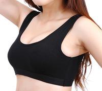 2PCS/LOT U Shape Women Sport Tank Tops Party Bust With Breast Pad Yoga Vest  U221