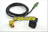 VW Golf 5/6 Scirocco Passat jetta mk6 USB Input USB Connector Surface + cable  RCD510 5KD 035 726 A