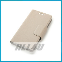 Original THL W100 Case  Protective leather Cover Free Shipping Beige & Blue