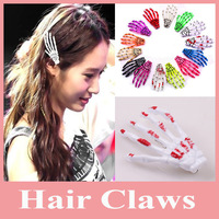 Hot Sell 20pcs/lot Fashion Skeleton Claws Skull Hand Hair Clip Hairpin Zombie Punk Horror hairwear