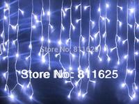 220V  EU/UK /AUPlug  5M 224 LED string Christmas lights  Icicle Lights curtain light  Xmas Wedding Party Decorations