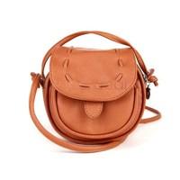Fashion Korea women messenger bag Girls Handmade Musette Drum PU leather Pattern Small Shoulder bag Handbag 4 colors 5057