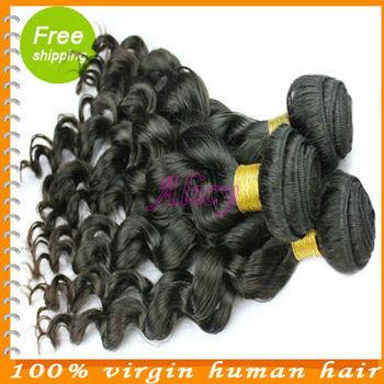 wholesale queen hair products 100 percent human virgin 4 bundles lot unprocessed hair Grade 5A remy peruvian wavy