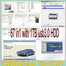 67 in1 con 1 TB de disco duro 2014 win8 ajuste win7 Alldata 10.53 + Mitchell 2014Q1 133gb + med y camiones pesados + gerente + TecDoc + elsa 4.1 + ETKA + Atris(China (Mainland))