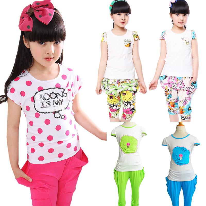 AliExpress.com Product - Crazy Sale ! Classic black and white stripe cartoon panda character girls favorate pattern t-shirt sets