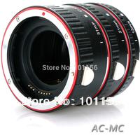 Aputure Metal Macro Extension Tube Ring Set AC-MC  for DSLR Camera Canon 7D 6D 50D 40D 30D 5D 20D 10D 5D Mark III 5D markII gift