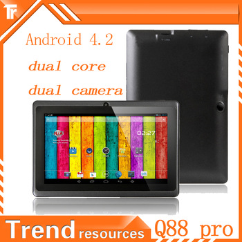 android tablet dual core Android 4.2 RK3026 1024x600 512MB RAM 4GB ROM  quad core GPU RK726 tablet 7 inch tablets + gift