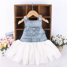 baby denim dress promotion