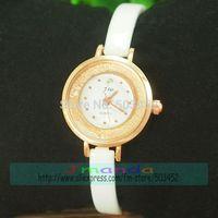 JW-3426 50pcs/lot New Arrival JW Rose White Color Quartz Bracelet Watch Fashion Ladies Dress Alloy Watch Excellent Design