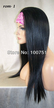 machine made wig front lace wig straight hair(China (Mainland))