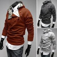 High collar 2013 arrival top brand men's jackets dust coat outwear Color:5 Colors Size:M-XXXL