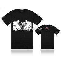 diamond supply co been trill t-shirt men blouse skateboard tops fashion hip hop t shirts 2014 tees camisetas masculinas