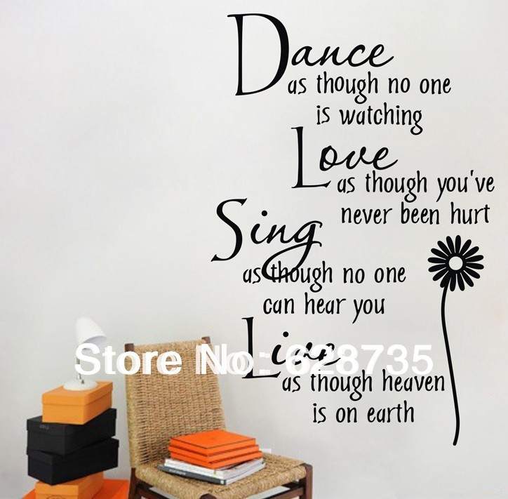 Is Watching Vinyl Wall Decal Quote Wall Lettering Art Words
