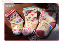 Free shipping 3-12 month 1-3 year old Carter girls socks cater's shallow mouth socks, cotton socks