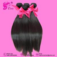 "EVAS Hair Products Peruvian Straight Virgin Hair Extension 3pcs/lot Mixed Length 8-34""  Human Hair Weaving Free Shipping By DHL"