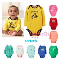 4pcs/lot, Carter's Original Baby Boys Bodysuit , Carters Baby Fashion Striped Rompers, Freeshipping( in stock)