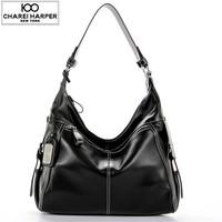 Femininas 2015 Real Leather Women's Handbags Messenger Bags Cowhide Hobo Bag Retro Shoulder Bags Genuine Leather Bags For Women