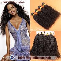 "Cheap Brazilian Curly Virgin Hair Kinky Curly 3Pcs,100%Human Hair Extension,Tangle Free Brazilian Kinky Curly Virgin Hair 8""-30"""
