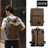 Eshow Backpack Men Canvas backpack School Backpacks Outdoor Rucksack BFB002011