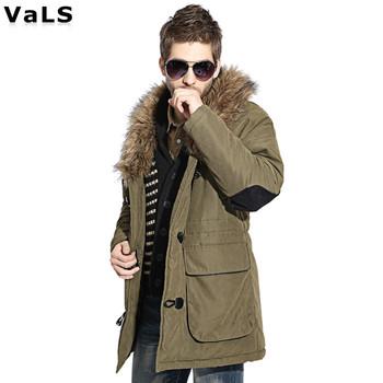 Brand Mens Winter Jacket : Big Size Warm Thickness Winter Coats, Outdoors Jacket Parka Men Coat Winter