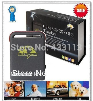 SPY Real-time Mini GPS Tracker GPS/GSM/GPRS Vehicle Car Tracking system TK102B + TF card slot