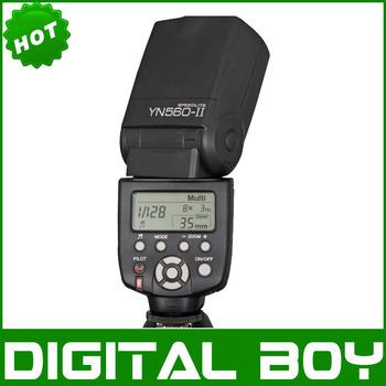 Yongnuo YN-560 II speedlite for Nikon Canon Pentax Olympus Panasonic YN560II YN 560 II Flash Speedlight 1D 5D 5D II 5D III 50D