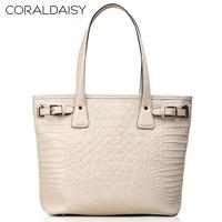 Women Leather Handbags New  2013 Coraldaisy  Crocodile Grain Fashion Totes Shoulder Bags