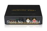 HDMI to HDMI + Audio (SPDIF + RCA L / R) Audio Extractor. HDMI to rca converter, spdif converter