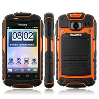 Discovery V5 Rugged Android Smart Phone Shockproof Dustproof MTK6515 A9 CPU WiFi 3.5 Inch Screen Dual SIM Rock