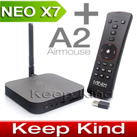 MINIX NEO A2 Air mouse + MINIX NEO X7 Rockchip RK3188 Quad Core android tv box android 4.2 media player XBMC Smart tv box 2G/16G