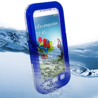 HOT Sale! Waterproof Shockproof Designer Hard Case Protective Phone Cover With Strap For Samsung Galaxy S IV S4 i9500 i9505