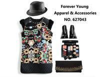 Black Print Elegant Gem Rabbit Fur Women Cloth Bandage Dress Bodycon Dresses Fashion Autumn Casual Clothes Winter Clothing
