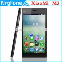 "Original Xiaomi Mi3 Phone Quad Core M3 3G/WCDMA 2GB RAM 64GB ROM Qualcomm Snapdragon 5"" 1920x1080p 13MP NFC MIUI 3050mAh Russian"