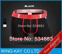 Fre eshipping 2014 New Arrival M/L/XL size 95%Cotton+5%Elastane 3 colors shorts men underwear men boxers